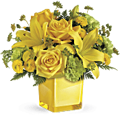 Teleflora's Sunny Mood Bouquet Flowers