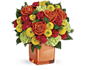 Teleflora's Citrus Smiles Bouquet, picture
