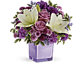Pleasing Purple Bouquet, picture