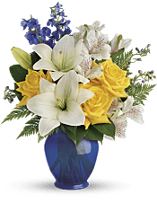 Oceanside Garden Bouquet Flowers