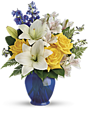 Teleflora's Oceanside Garden Bouquet Flowers
