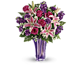Teleflora's Luxurious Lavender Bouquet, picture