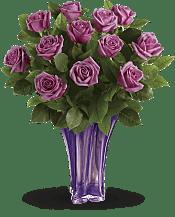 Lavender Splendor Bouquet Flowers