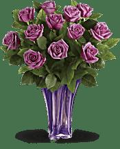 Teleflora's Lavender Splendor Bouquet Flowers