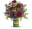 Teleflora�s Vivid Love Bouquet