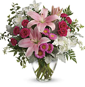 Blush Rush Bouquet Flowers