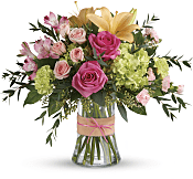 Blush Life Bouquet Flowers