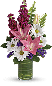 Teleflora's Playful Daisy Bouquet Flowers