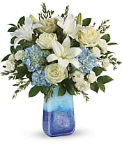 Ocean Sparkle Bouquet Flowers