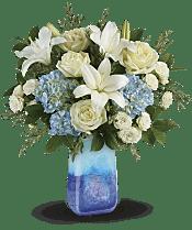 Ocean Sparkle Bouquet Flowers