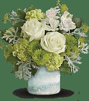 Seaside Roses Bouquet Flowers