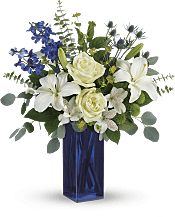 Calming Cobalt Bouquet Flowers