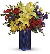 Flying Colors Bouquet Flowers