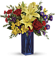 Teleflora's Flying Colors Bouquet Flowers