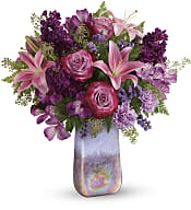 Amethyst Jewel Bouquet Flowers