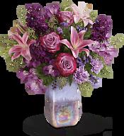 Amethyst Jewel Bouquet Flowers