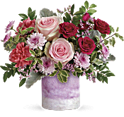 Teleflora's Washed In Pink Bouquet Flowers
