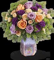 Amethyst Sunrise Bouquet Flowers