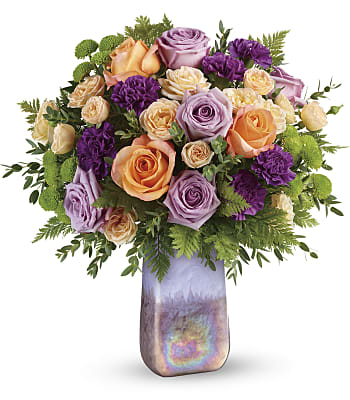 Teleflora's Amethyst Sunrise Bouquet Flowers