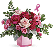 Teleflora's Pink Power Bouquet Flowers