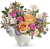 Magical Garden Unicorn Bouquet Flowers