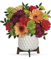 Mid Mod Brights Bouquet Flowers