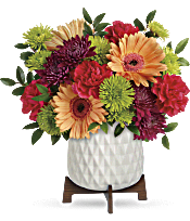 Teleflora's Mid Mod Brights Bouquet Flowers
