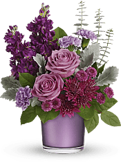 Always Amethyst Bouquet Flowers