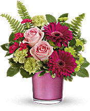 Teleflora's Regal Pink Ruby Bouquet Flowers
