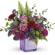 Purple Serenity Bouquet Flowers