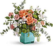 Teleflora's Sunset Splash Bouquet Flowers