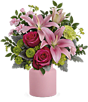Teleflora's Savannah Blush Bouquet Flowers