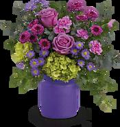 Amethyst Awe Bouquet Flowers
