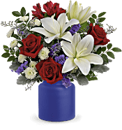 Teleflora's Rose Revelry Bouquet Flowers