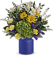 Teleflora's Sunrise At Sea Bouquet Flowers