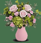 Breezy Pink Bouquet Flowers