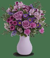 Prettiest Purple Bouquet Flowers