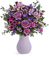 Teleflora's Prettiest Purple Bouquet Flowers