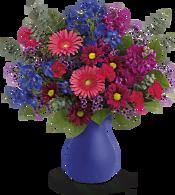 Jewel Tones Bouquet Flowers