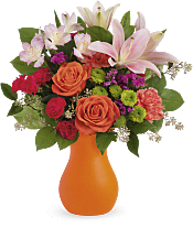 Happy Go Citrus Bouquet Flowers