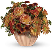 Joyful Hearth Bouquet Flowers