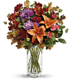 Fall Brights Bouquet Flowers