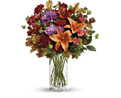 Teleflora's Fall Brights Bouquet, picture