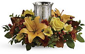 Glowing Gathering Centerpiece  Flowers