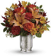 Fall Blush Bouquet Flowers