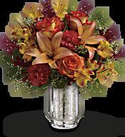 Teleflora's Fall Blush Bouquet Flowers