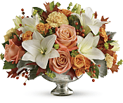 Harvest Shimmer Centerpiece Flowers
