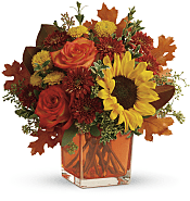 Hello Autumn Bouquet Flowers
