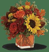 Hello Autumn Bouquet Flowers
