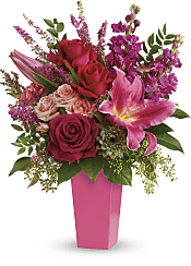 Forever Fuchsia Bouquet Flowers